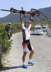 初出場の内間「欧州で走って力をつけるしかない」 - 自転車 : 日刊スポーツ