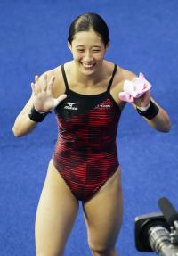 板橋美波8位80年ぶり入賞「次こそ金メダルを」 - 飛び込み : 日刊スポーツ