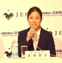 馬術・武田麗子「力を尽くしたい」リオ五輪へ決意 - 馬術 : 日刊スポーツ