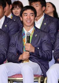 白井健三「東京に喜びはお預け」4年後へ新たな1歩 - 体操 : 日刊スポーツ