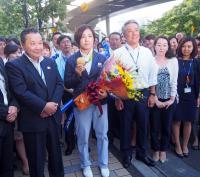 田知本遥がV報告「少しは恩返しが出来たのかな」 - 柔道 : 日刊スポーツ