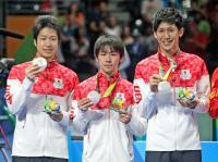 水谷 男子団体で中国ビッグ4から34戦目で初金星 - 卓球 : 日刊スポーツ