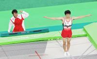 棟朝銀河4位も手応え「東京は金メダル狙います」 - トランポリン : 日刊スポーツ