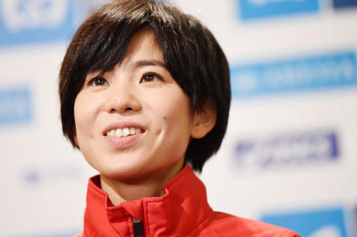 "Photo of Suzuki Ayuko ""Be calm and positive"" Believe in the postponement Olympic Games"