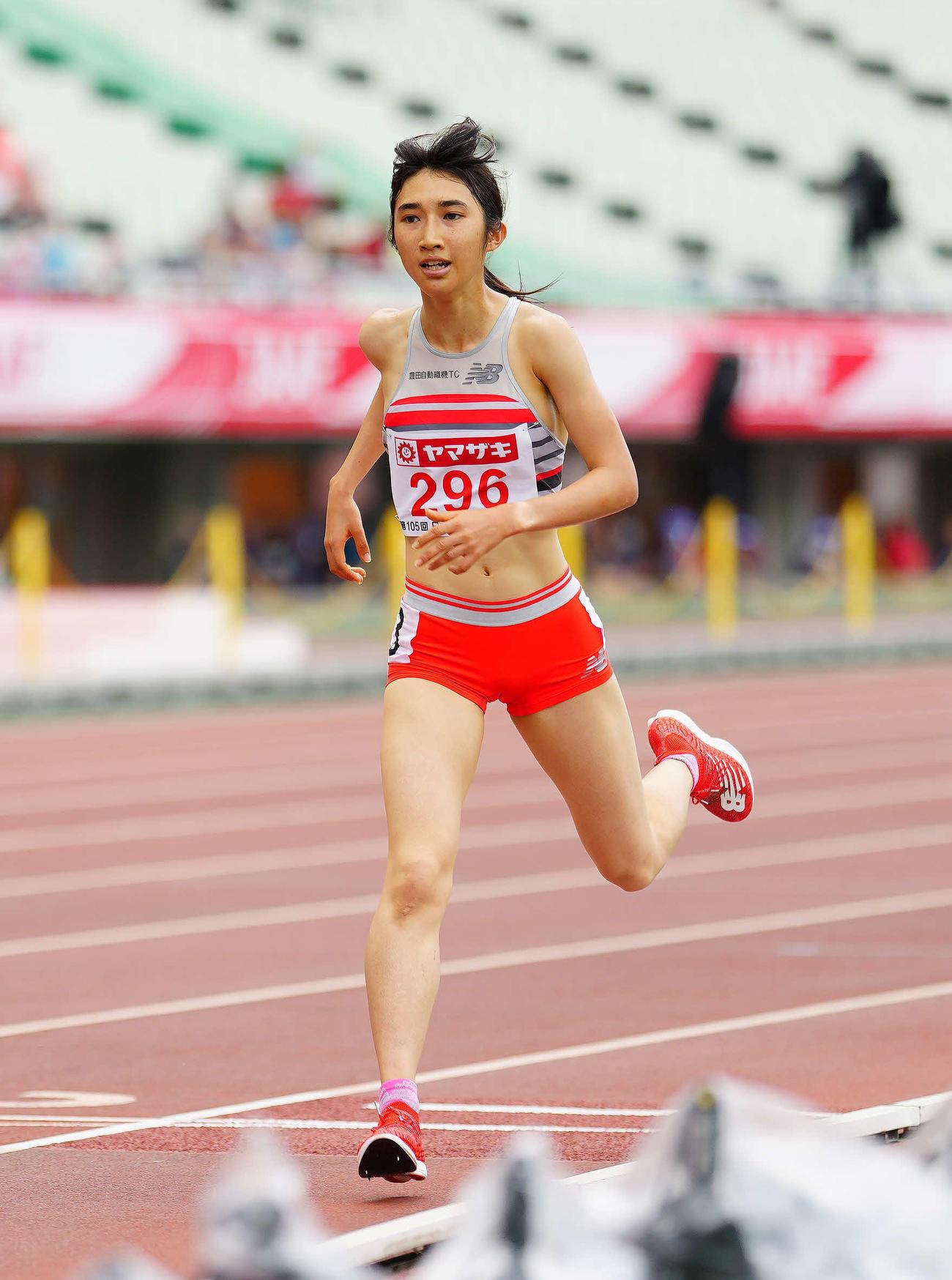 女子5000メートル田中希実(2021年6月27日)