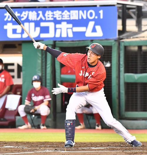 巨人対日本代表 2回表日本代表無死、一ゴロに倒れる柳田(撮影・上田博志)
