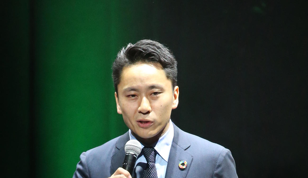日本フェンシング協会太田会長(2019年11月3日撮影)