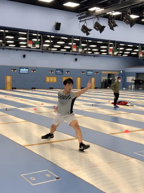 "Photo of Fencing Tokunan ""Nostalgia and Joy"" Practice Resumes"