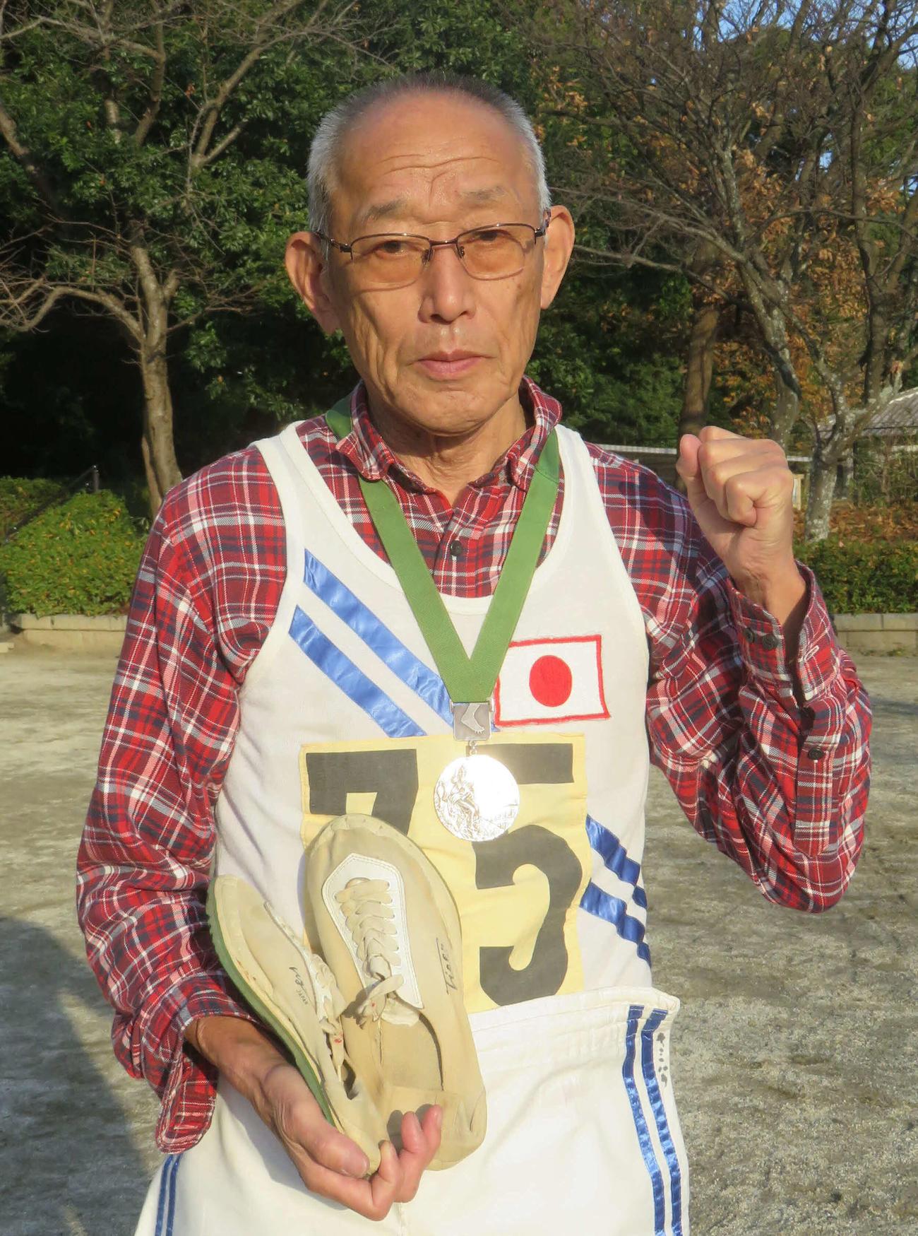 福島・須賀川市で聖火リレー最終ランナーを務める予定だった君原健二さん