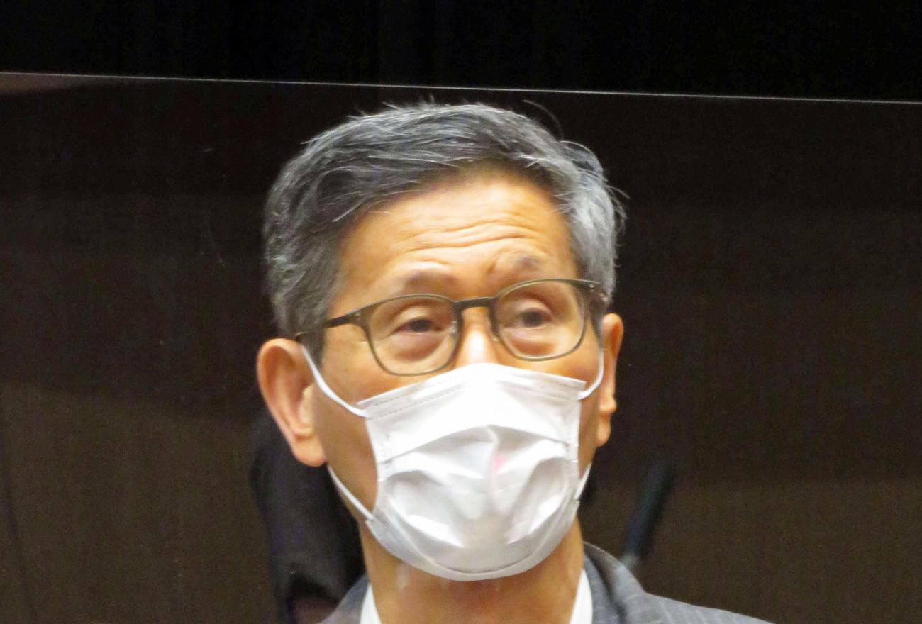 新型コロナウイルス感染症対策分科会の尾身茂会長(2020年8月21日撮影)