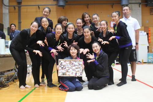 """Photo of Rhythmic Gymnastics Fairy Japan introduces """"Millefeuille""""?"""