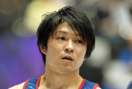 Photo of Kouhei Uchimura abandoned Tokyo Olympics group & individual comprehensive shoulder pain