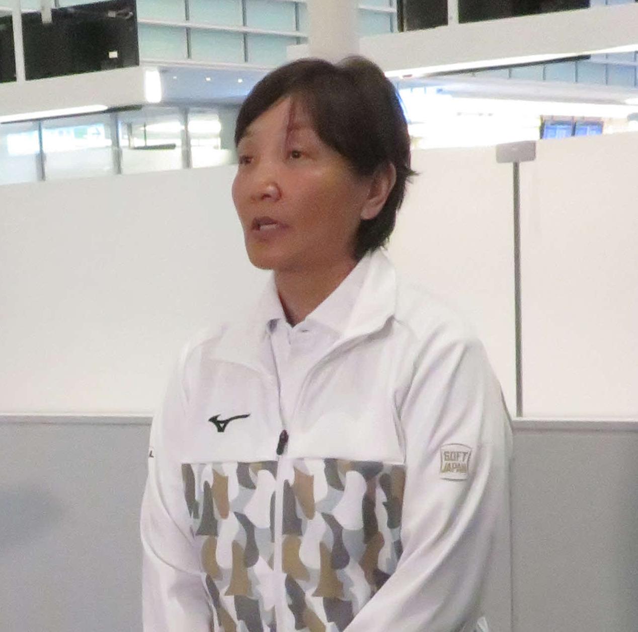 ソフトボール日本代表宇津木監督(2020年1月11日撮影)