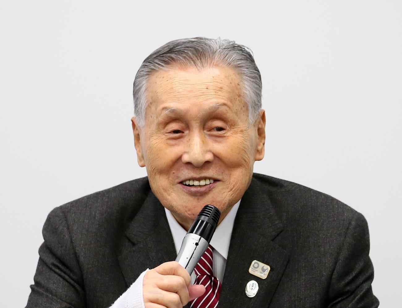 東京五輪組織委員会の森喜朗会長
