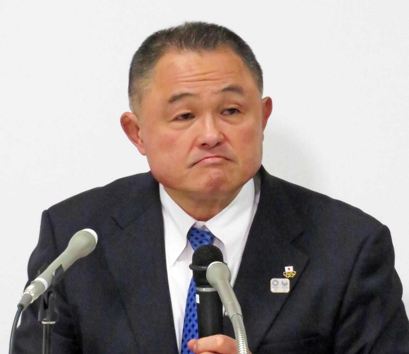 日本オリンピック委員会の山下泰裕会長