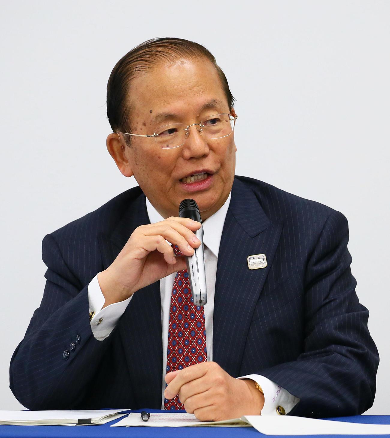 東京五輪・パラリンピック大会組織委員会の武藤事務総長(2020年3月23日撮影)