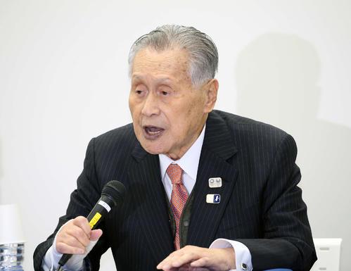 Photo of 森会長「IOCも負担すべき」会談で費用分担話なし