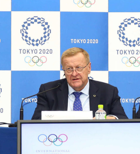 "Photo of Coats Coordination Chairperson, ""No Postponement Plan"" for Tokyo Olympics"