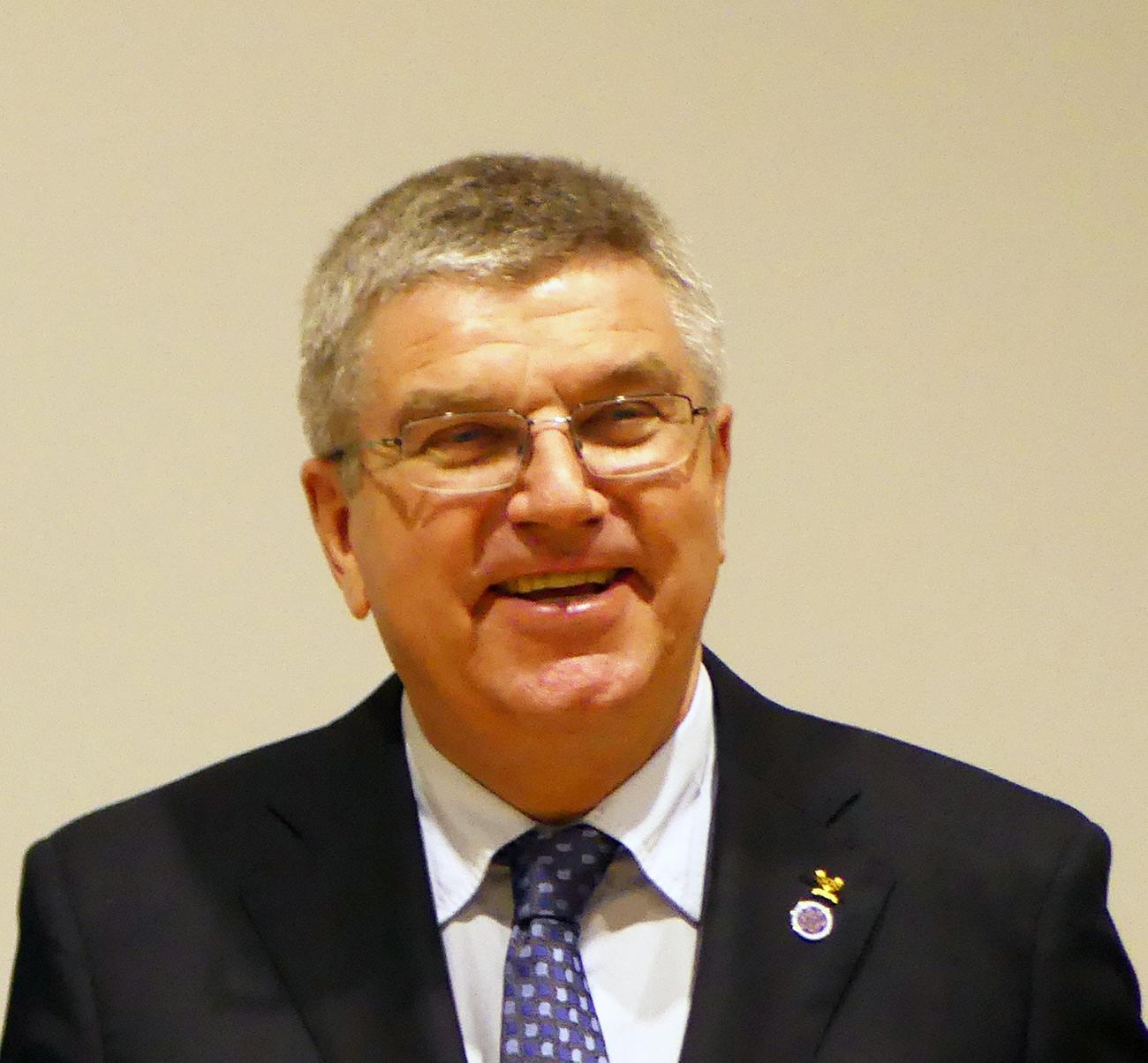 オリンピック バッハ 会長