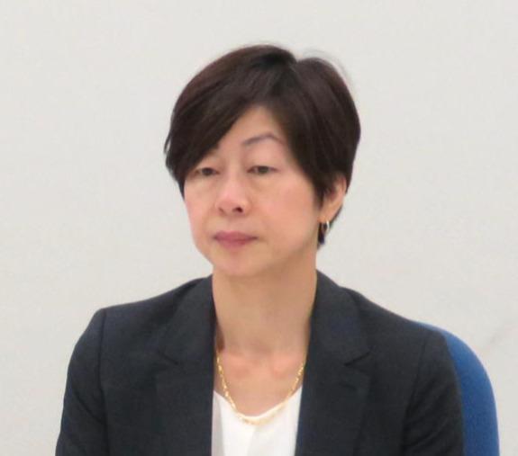 山口香氏(2018年9月12日撮影)