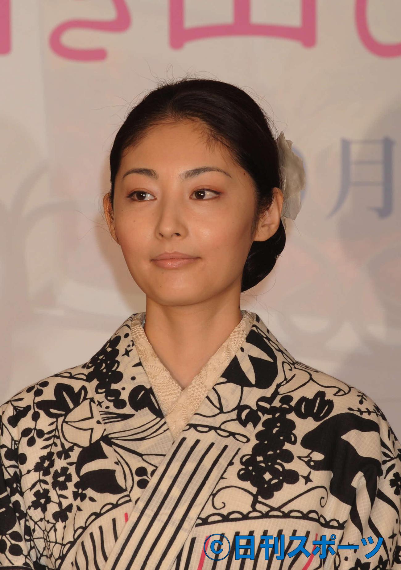 常盤貴子(2009年7月1日撮影)