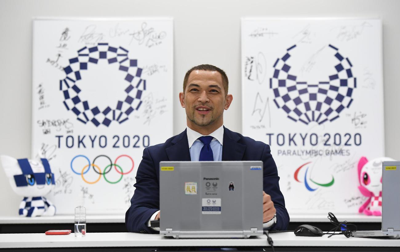 室伏広治スポーツ庁長官(2020年9月30日撮影)
