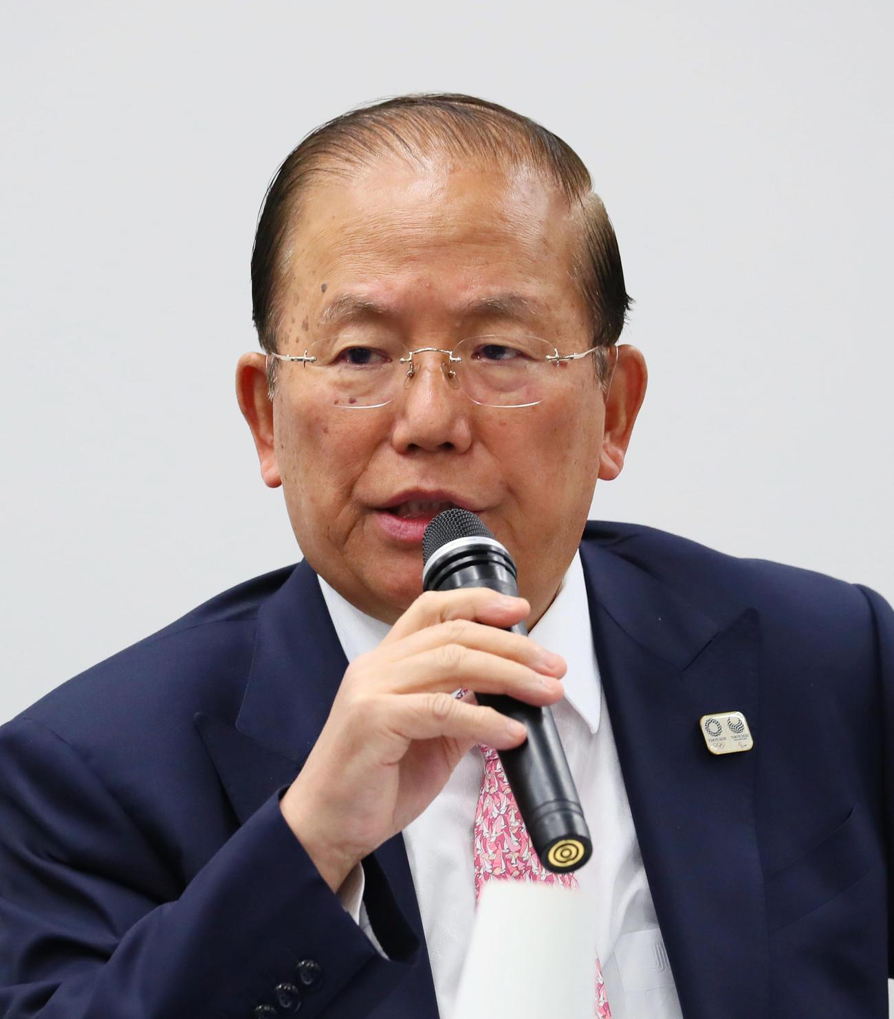 東京五輪・パラリンピック大会組織委員会の武藤事務総長(2020年3月30日)