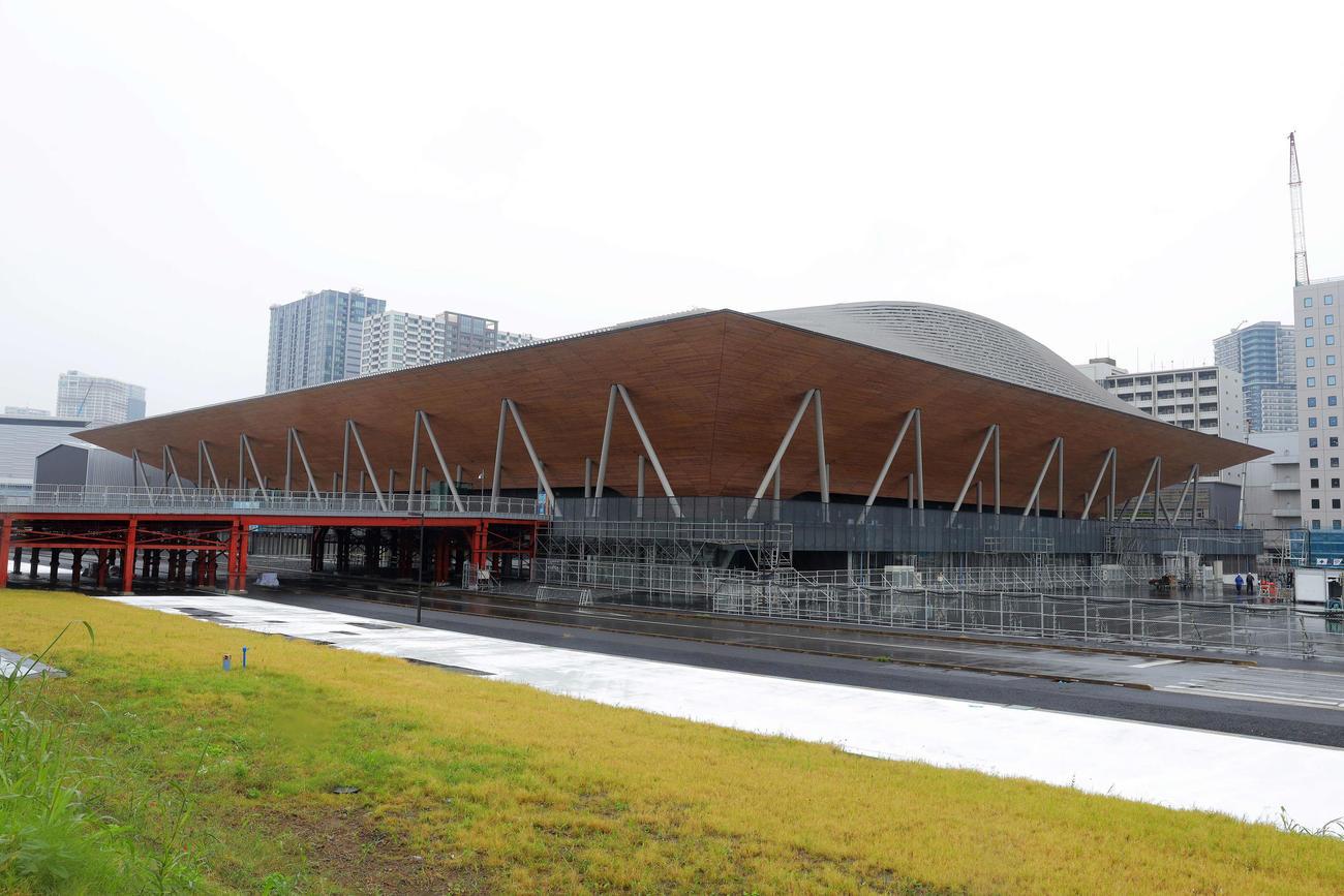 有明体操競技場(2019年10月29日撮影)