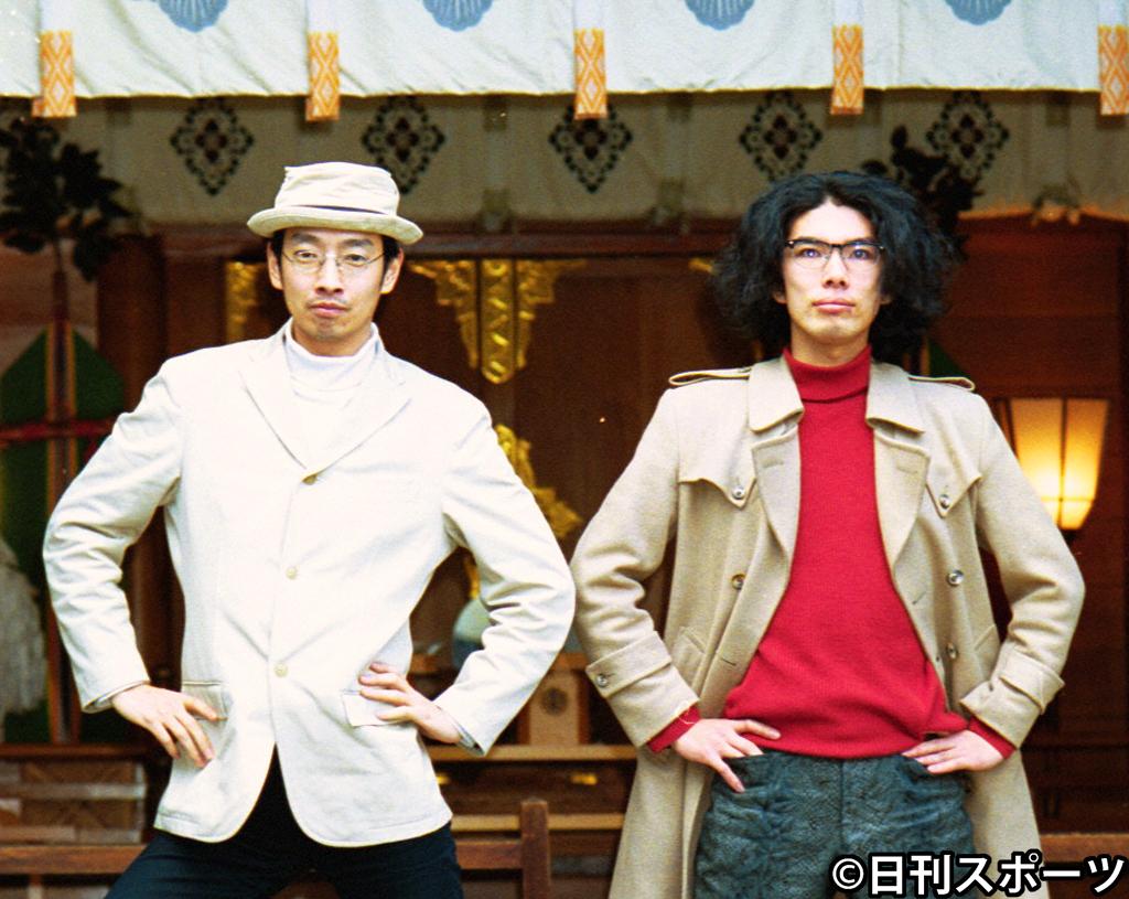 ラーメンズの小林賢太郎(左)と片桐仁
