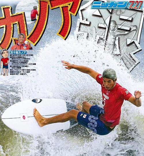 五十嵐カノア サーフィン 男子