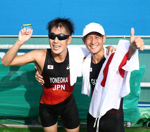 米岡聡がトライアスロン男子(視覚障害)で銅 宇田に続きメダルラッシュ
