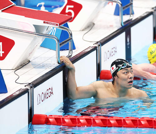 パラ水泳界の新星・山口尚秀が世界新で金メダル 男子100メートル平泳ぎ
