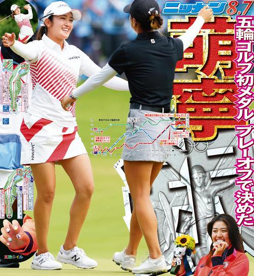 稲見萌寧 ゴルフ 女子個人