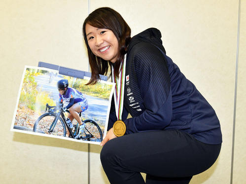 "Photo of Yumi Kajiwara's photo in high school says ""this time is my origin"""