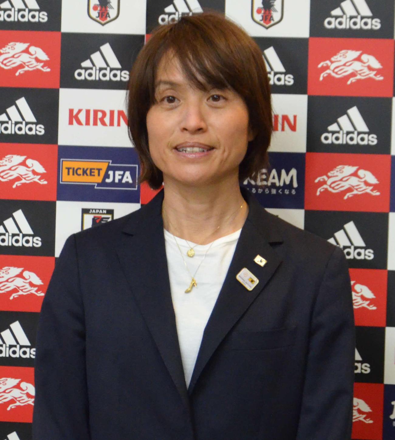 なでしこジャパンの高倉監督(2020年3月13日撮影)