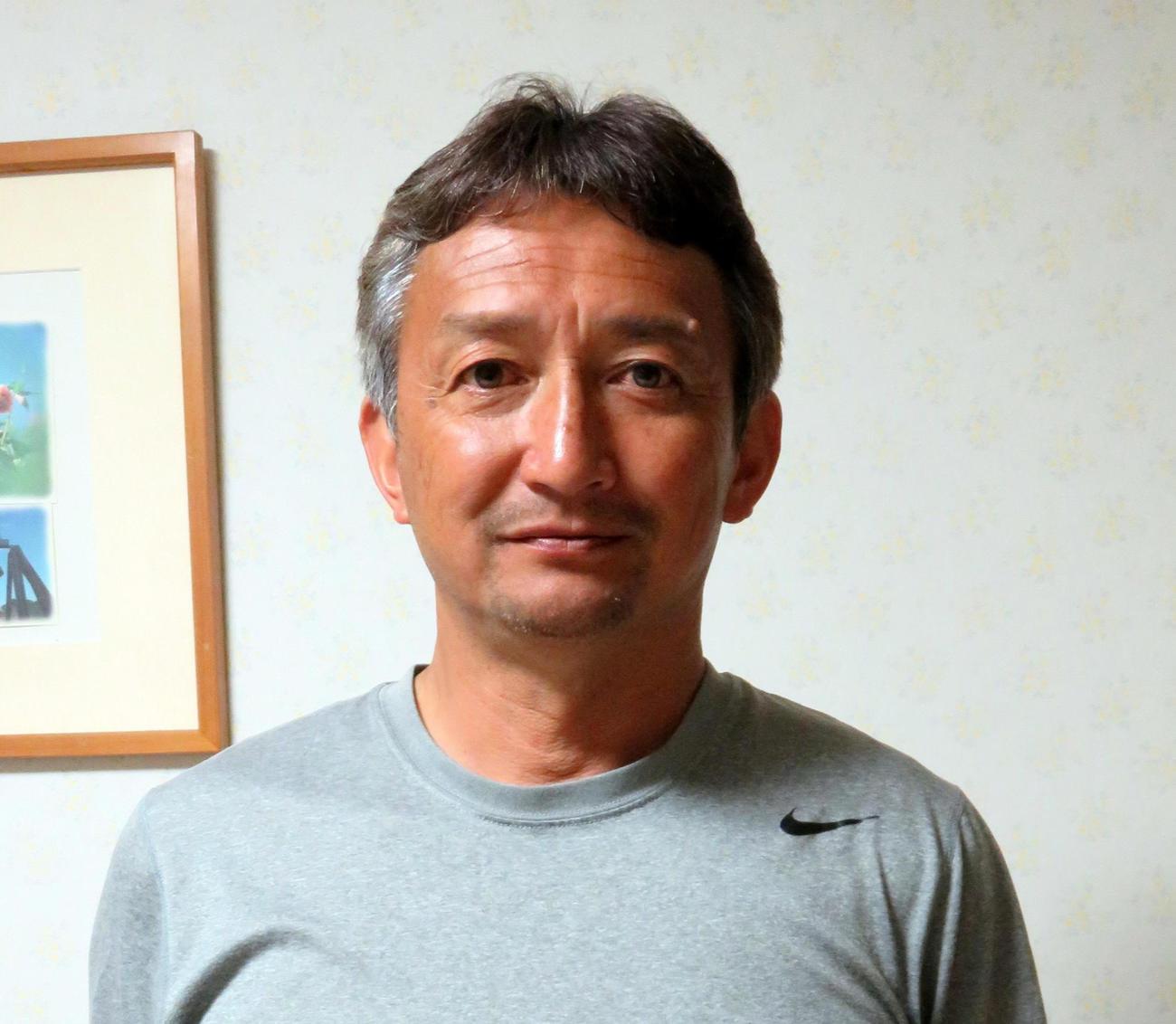 高校時代の山根を指導したJFAアカデミー福島総監督の今泉守正氏
