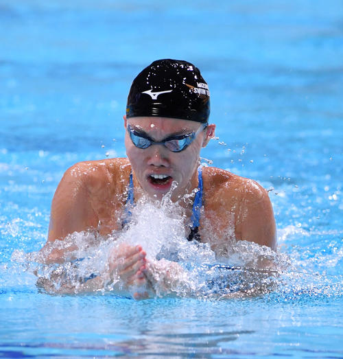 "Photo of Reoki Aoki ""Tips and Ears"" About Breaststroke Tips"