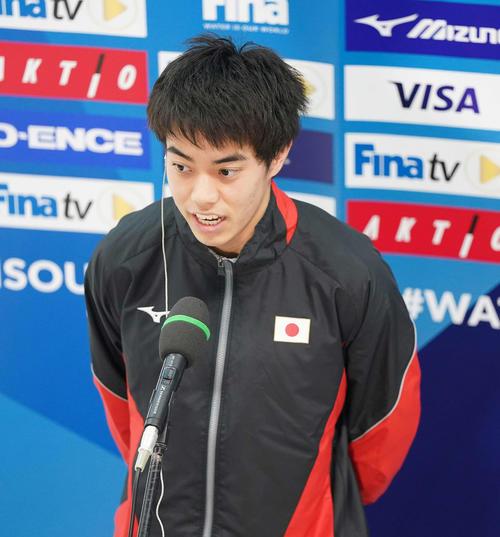 飛び込み代表内定・西田玲雄が参加資格保留 国際水連「上位12人」の連絡