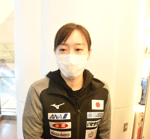 "Photo of Yoshimi Ishikawa thanks ""Chinese fans and reporters gave me a mask"""