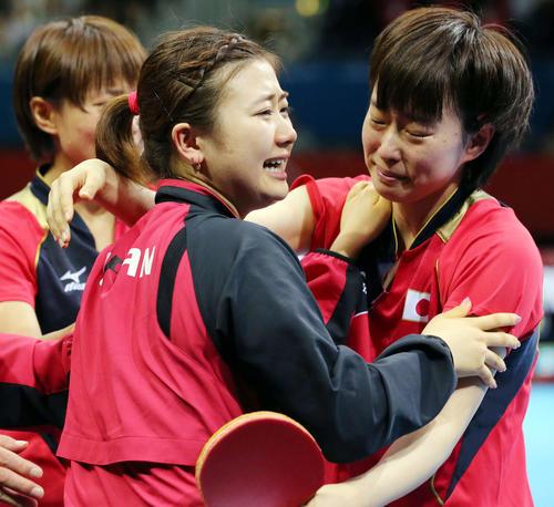 27歳石川佳純の孤独 「2020」見るのもつらい - 卓球 - 東京オリンピック2020 : 日刊スポーツ
