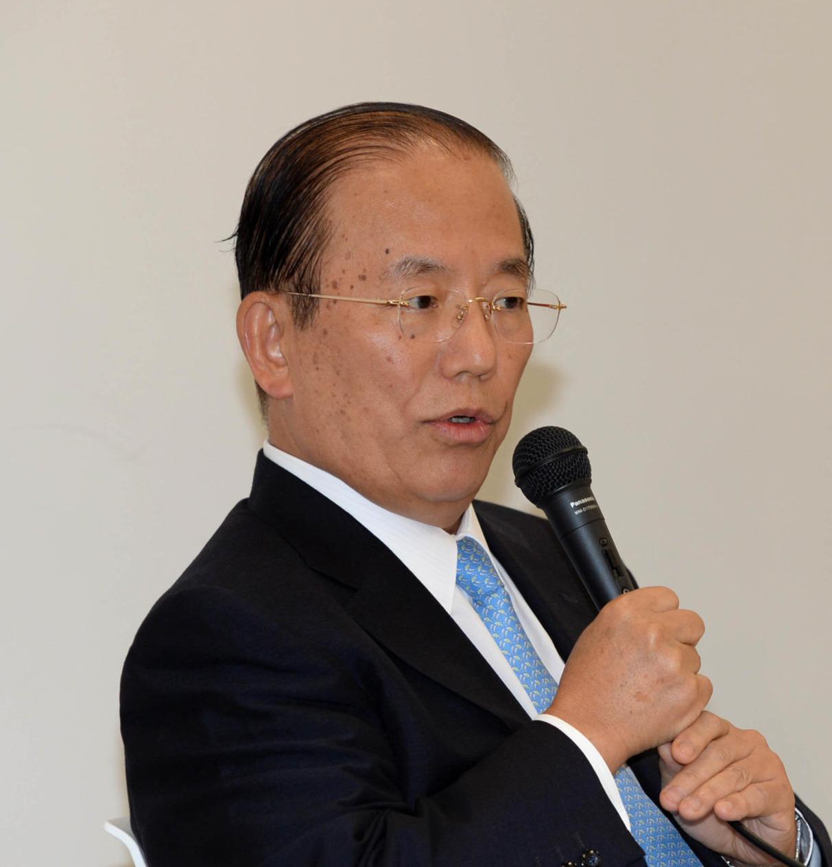 大会組織委の武藤事務総長