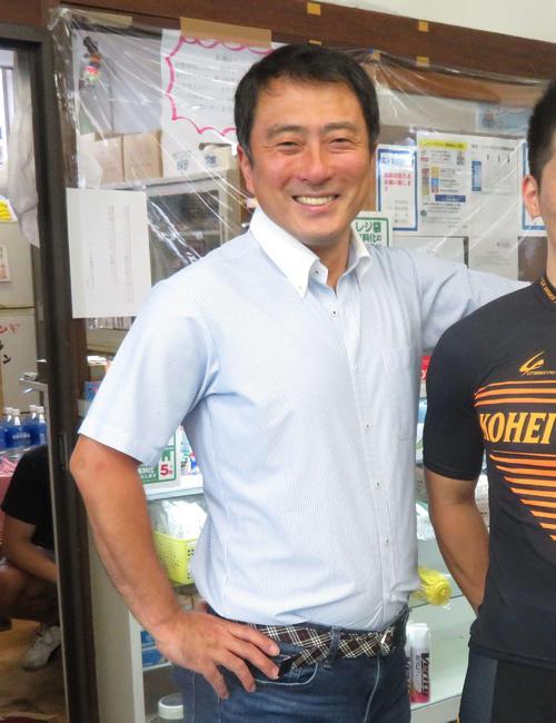 市田佳寿浩氏(2020年8月21日撮影)