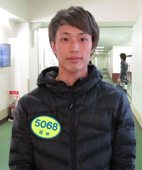 前田滉(2020年1月20日撮影)
