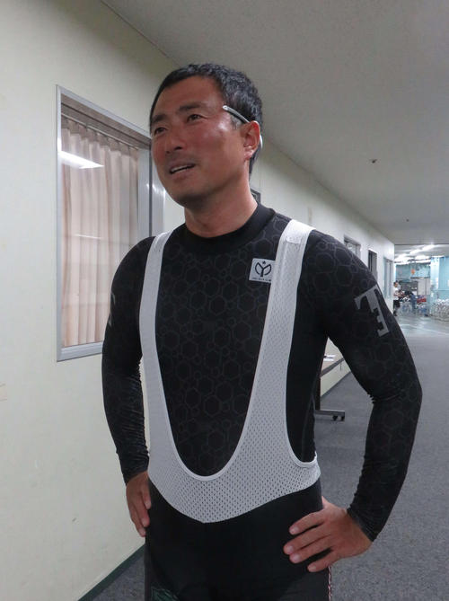 市田佳寿浩が前検日に心境を話す