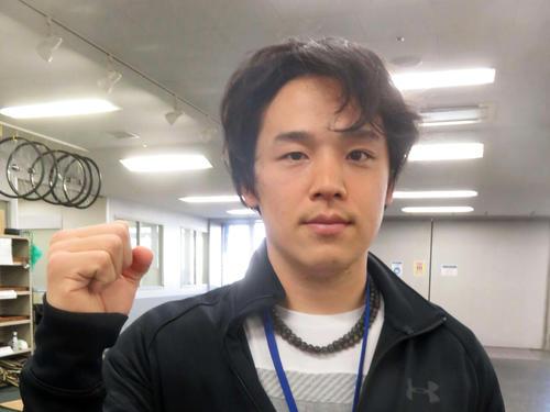 復活が期待される三谷竜生(撮影・栗田文人)