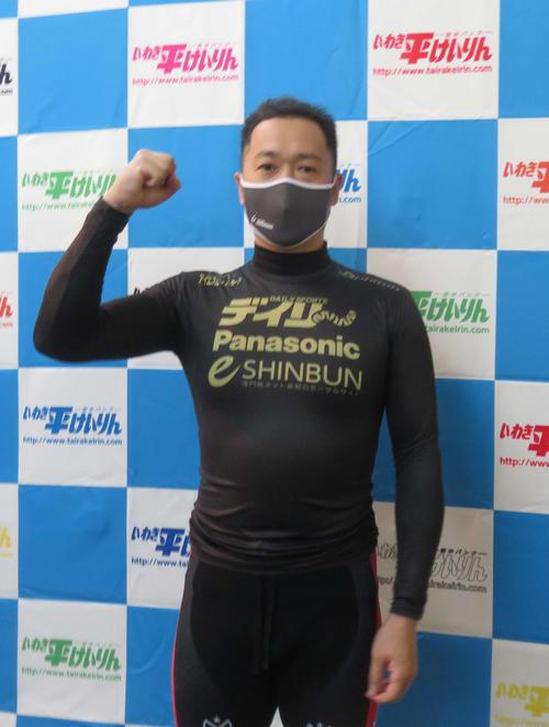 目標の決勝進出だけでなく、決勝2着で競輪祭出場まで決めた庄子信弘