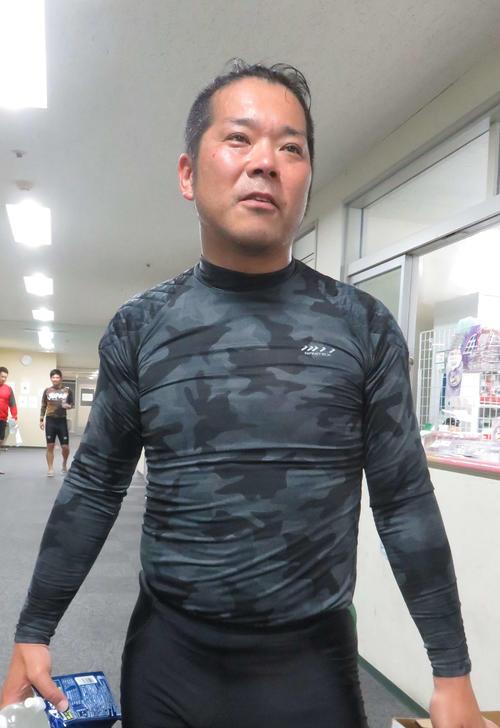 快勝劇を振り返る武藤貴志(撮影・野島成浩)