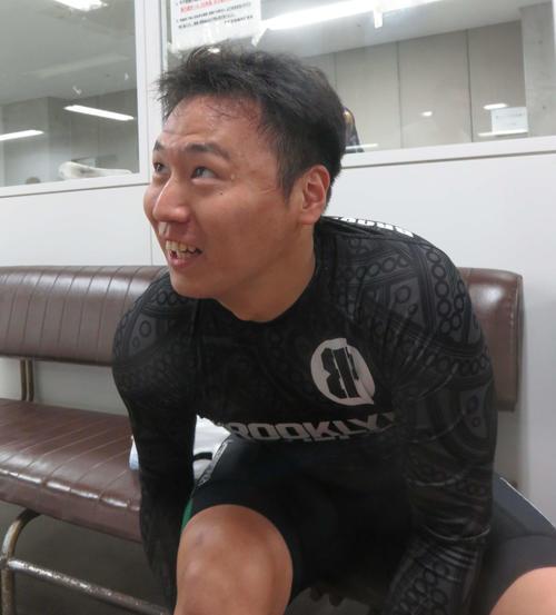 2日目1Rを快勝した藤井将(撮影・栗田文人)
