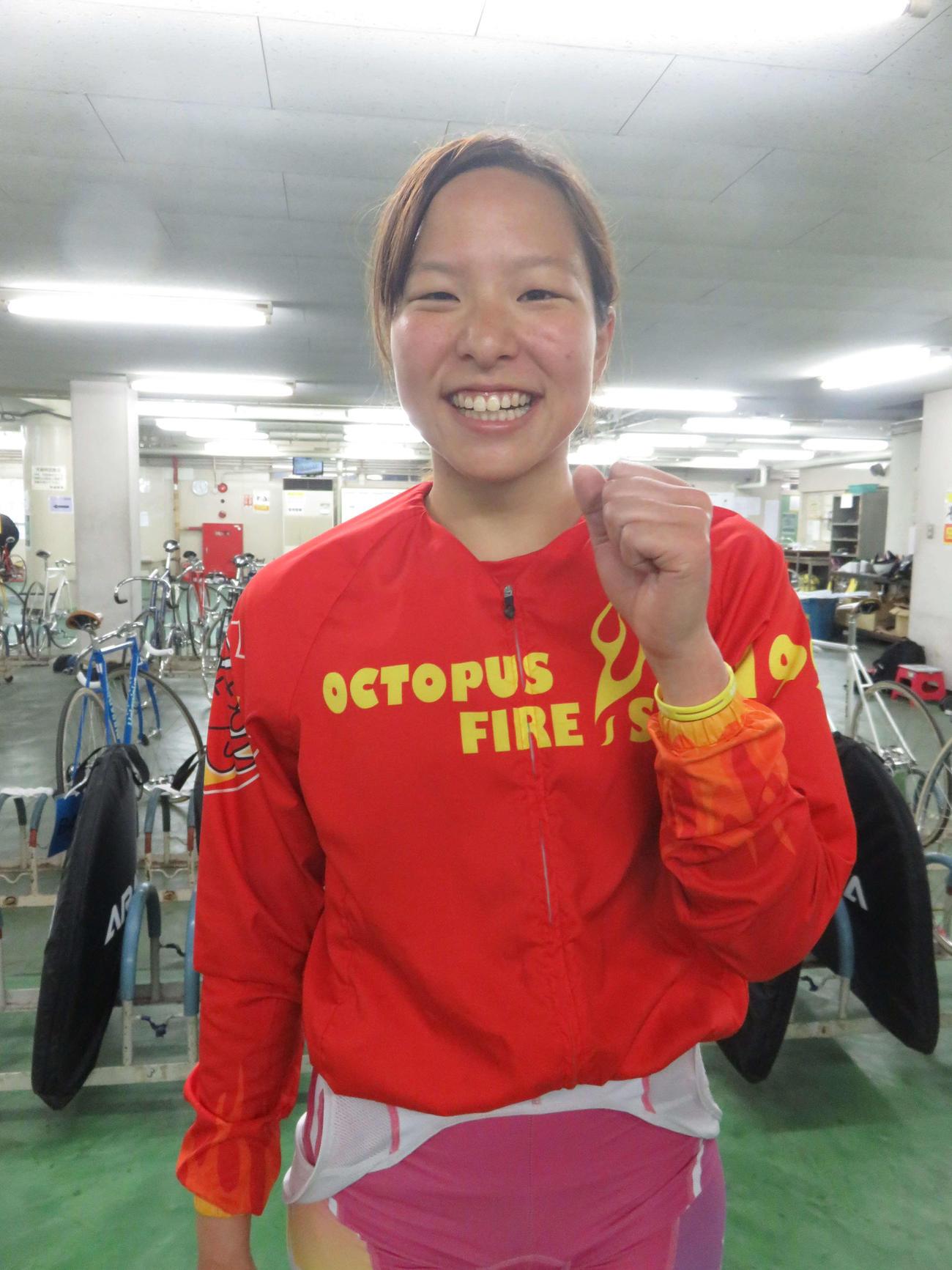 グランプリ組の梅川風子を破る会心の勝利を挙げた当銘直美