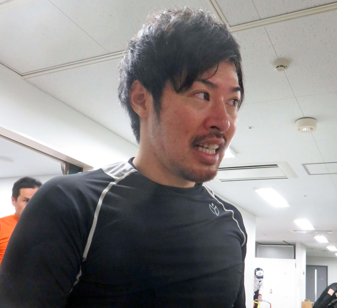 予選7着から挽回の1勝を挙げた山田純也(撮影・栗田文人)